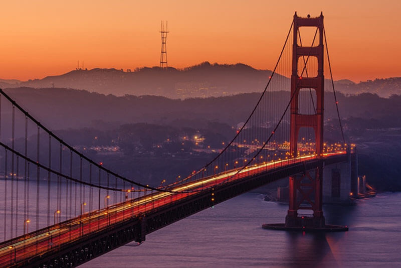 JugendBildungsmesse - Auslandsstudium USA San Francisco Golden Gate Bridge