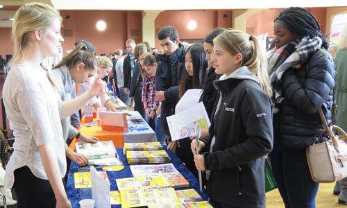JugendBildungsmesse JuBi Berlin: Auslandsaufenthalte, High School