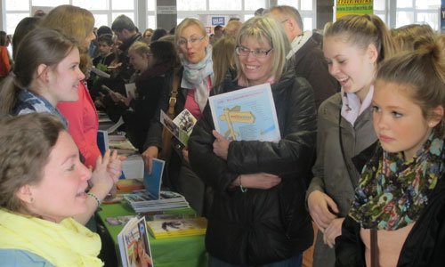 JugendBildungsmesse JuBi Bremen: Auslandsaufenthalte, Jugendbegegnung
