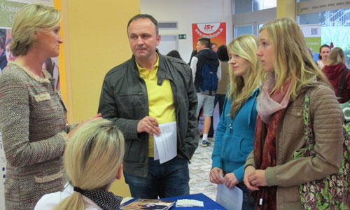 JugendBildungsmesse JuBi Darmstadt: Auslandsaufenthalte, Freiwilligenprojekte