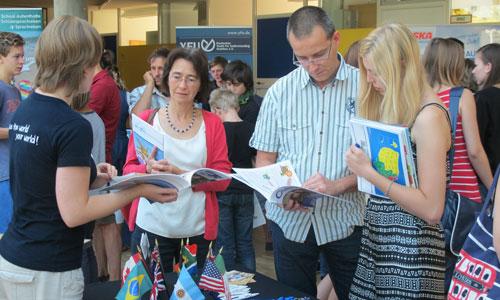 JugendBildungsmesse JuBi Dresden: Auslandsaufenthalte, Auslandsstudium