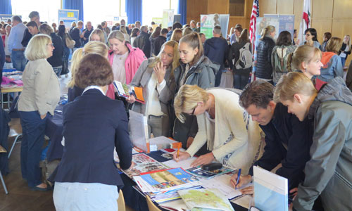 JugendBildungsmesse JuBi Düsseldorf: Auslandsaufenthalte