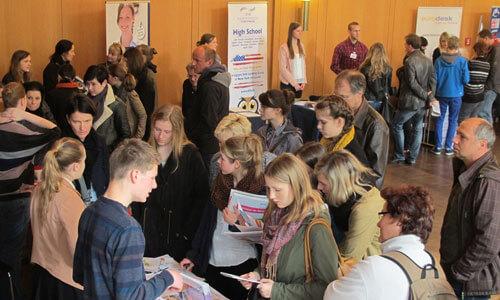JugendBildungsmesse JuBi Erfurt: Auslandsaufenthalte, Schüleraustausch