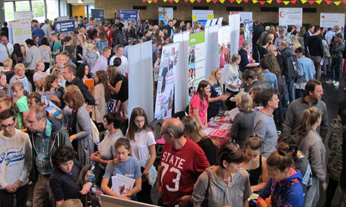 JugendBildungsmesse JuBi Frankfurt: Auslandsaufenthalte, Feriencamps