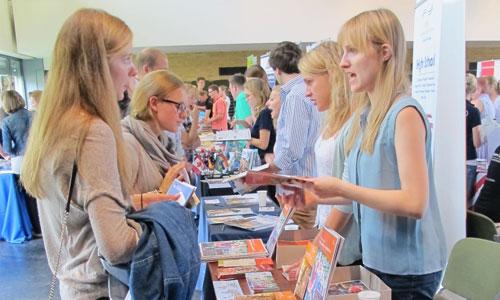 JugendBildungsmesse JuBi Frankfurt: Auslandsaufenthalte, Schuljahr im Ausland