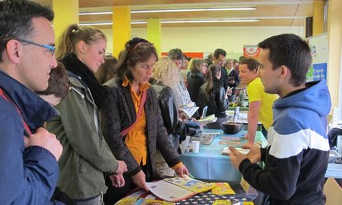 JugendBildungsmesse JuBi Freiburg: Auslandsaufenthalte, Freiwilligendienst