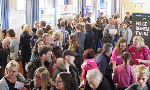 JugendBildungsmesse JuBi Hannover: Auslandsaufenthalte, Auslandsstudium