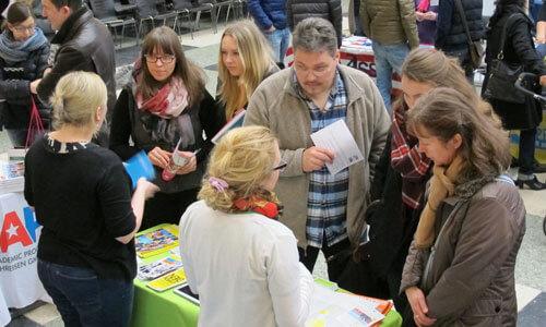 JugendBildungsmesse JuBi Kassel: Auslandsaufenthalte, Beratung