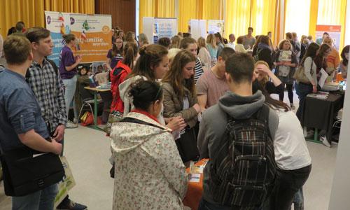 JugendBildungsmesse JuBi Kiel: Auslandsaufenthalte, Beratung Auslandsjahr