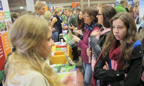 JugendBildungsmesse JuBi Köln: Auslandsaufenthalte, Beratung Schüleraustausch