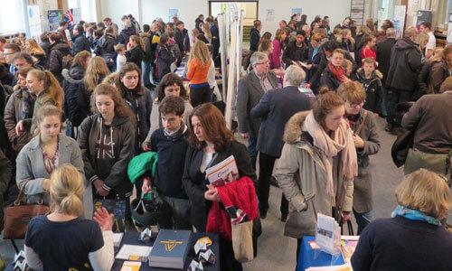 JugendBildungsmesse JuBi Lübeck: Auslandsaufenthalte, Beratung Sprachreisen