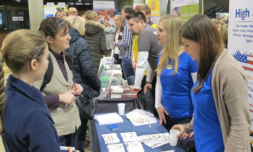 JugendBildungsmesse JuBi Mainz: Auslandsaufenthalte, Beratung Au-Pair