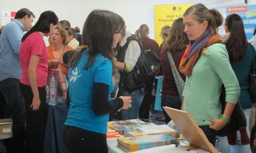 JugendBildungsmesse JuBi Mannheim: Auslandsaufenthalte, Beratung zu Freiwilligenarbeit