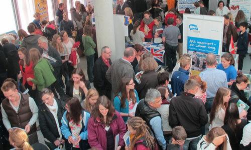 JugendBildungsmesse JuBi München: Auslandsaufenthalte, Beratung Freiwilligendienst