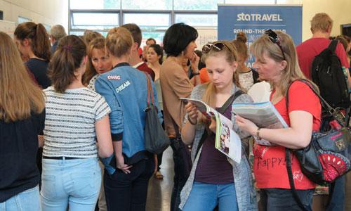 JugendBildungsmesse JuBi München: Auslandsaufenthalte, Beratung zu Work and Travel