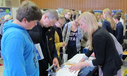 JugendBildungsmesse JuBi Münster: Auslandsaufenthalte, Beratung Auslandsjahr