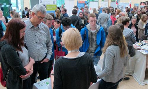 JugendBildungsmesse JuBi Münster: Auslandsaufenthalte, Beratung zu Freiwilligenprojekt