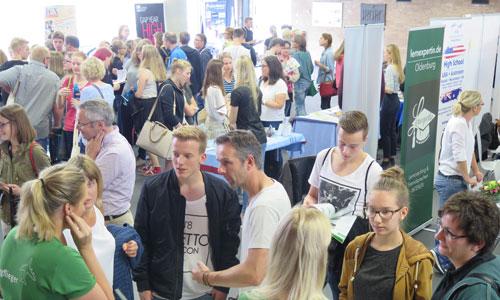 JugendBildungsmesse JuBi Oldenburg: Auslandsaufenthalte, Stipendien für Schüleraustausch