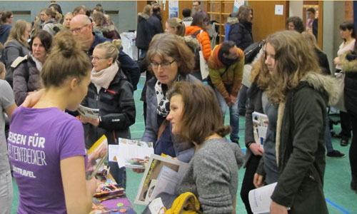 JugendBildungsmesse JuBi Regensburg: Auslandsaufenthalte, Stipendien für High School