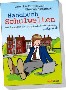 JugendBildungsmesse - Cover Handbuch Schulwelten, weltweiser Verlag